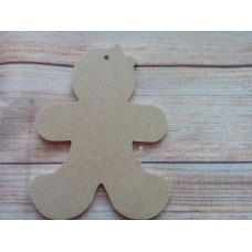 4mm MDF Gingerbread Lady 120mm
